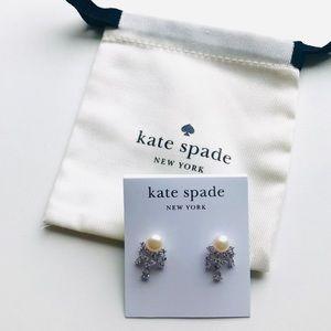 Kate Spade Pearl Crystal Earrings